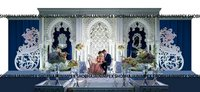 Moroccan Wedding Fiber Panel Backdrops