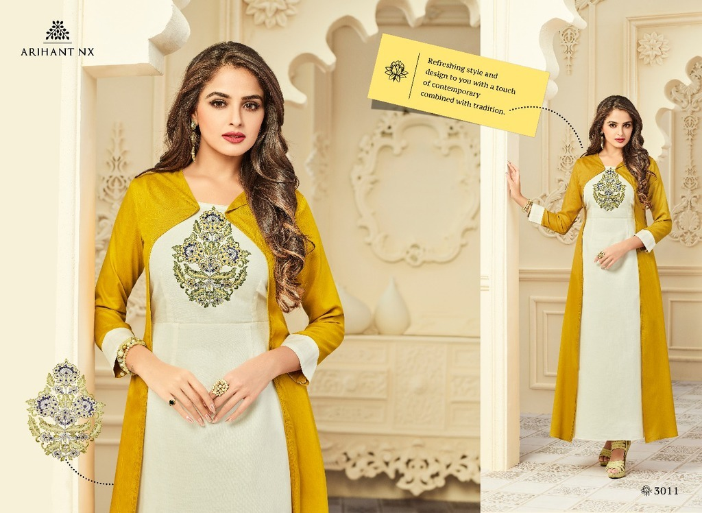 Fancy Embroidered Kurtis