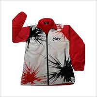 Men's Printed Track Jacket