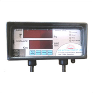 Digital Taxi Fare Meter