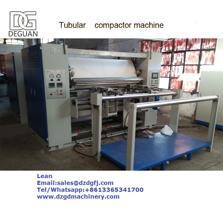 Tubular Compactor For Knitting Fabric