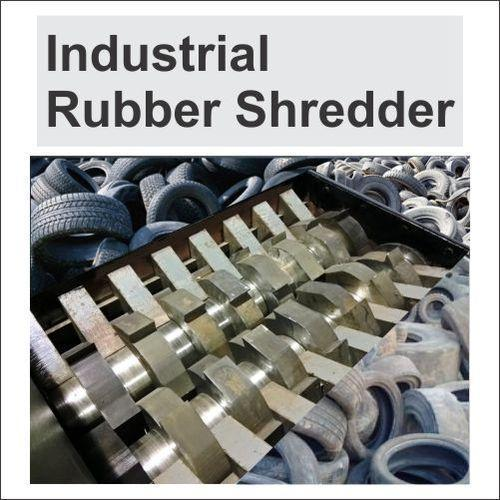 Industrial Rubber Shredder