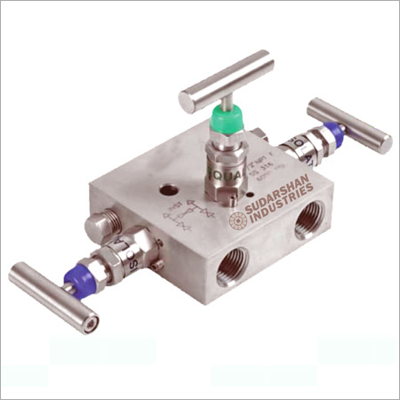 Remote Mounting Three Valve Manifold