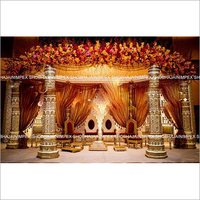 Ajanta Theme Wedding Mandap