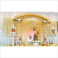 Double Pillar Wedding Mandap