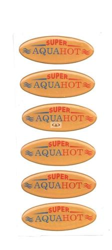 Water Heater Stickers