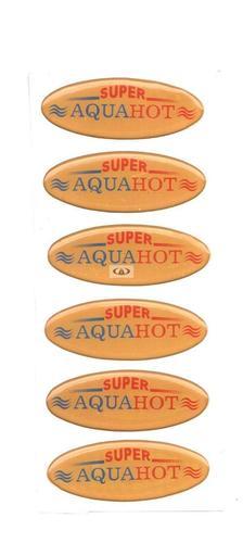 Water Heater Stickers