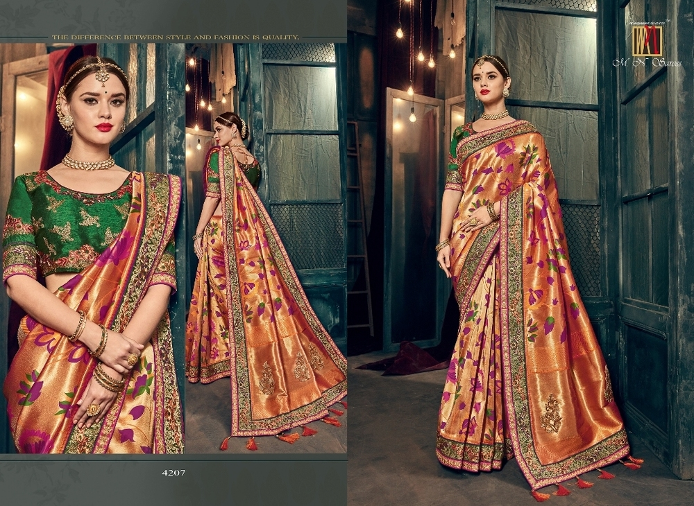Party wear & wedding for designer sarees