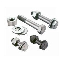 Full and Half Thread Nut and Bolt and Washer