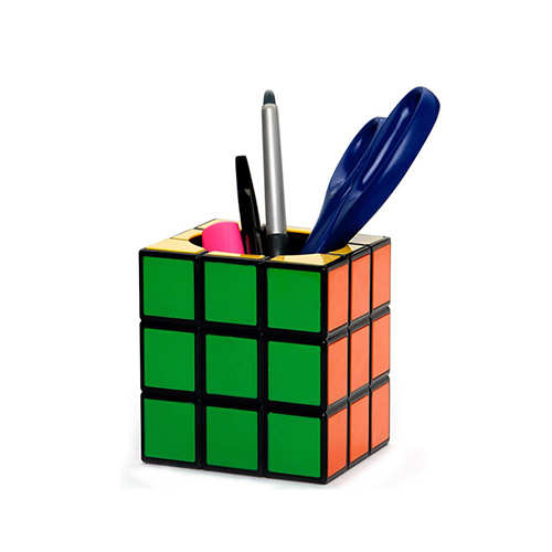 Rubic Cube pen stand