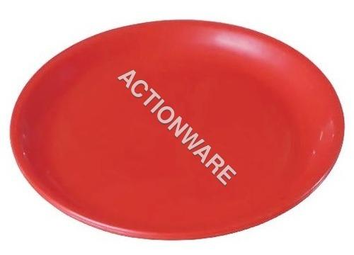 Red Plate-200 Mm (Round) (6 Pcs Per 1 Set)