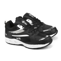 Mens Full Black Sports Shoes