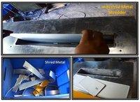 Industrial Metal Shredder