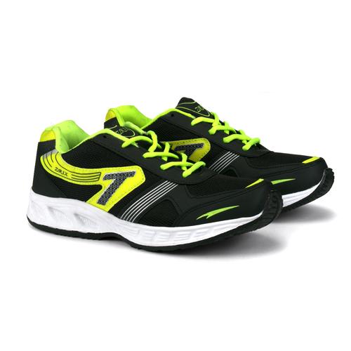 Mens Black P Sports Shoes