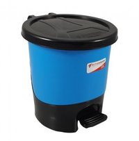 Silver Paddle Dustbin 10 Ltr.