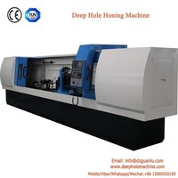Deep hole honing machine