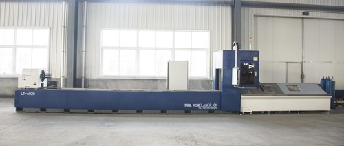 Fiber Laser Angel & Pipe Cutting Machine