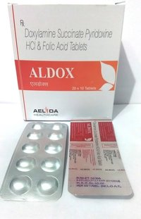 Doxylamine  Pyridoxine Folic Acid tablets