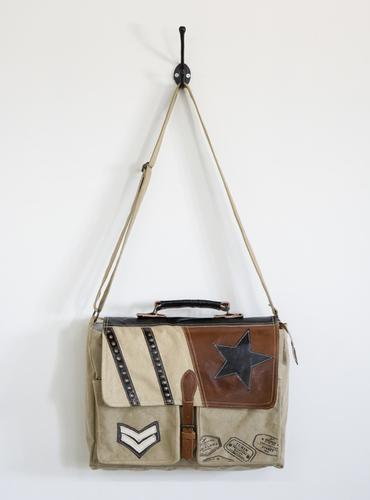 Vintage Post Man Bag