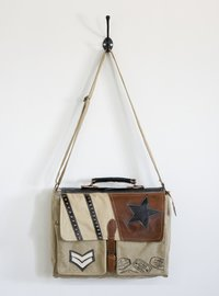 Vintage Post Man Bag