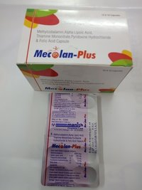 Methylcobalamin 1500 mcg + Alpha Lipoic Acid 100mg + ThiamineMononitrate 10 mg + Pyridoxine HCL10 mg + Folic Acid 3 mg