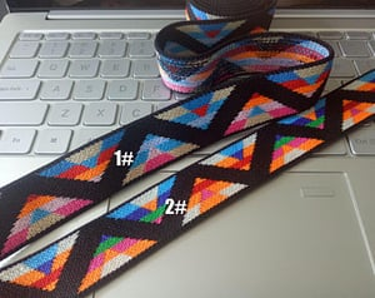 Woven Jacquard Trim Ribbon