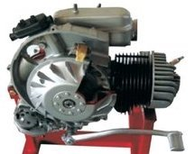Two Stroke Single Cylinder Engine