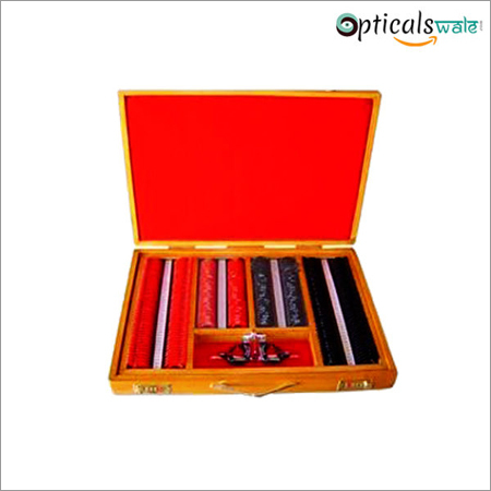 Trial Lens Set Wooden Box