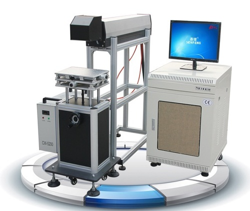 CO2 Galvohead Laser Machine