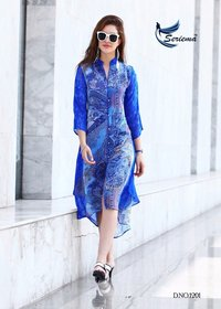 Fancy Printed Georgette Kurti