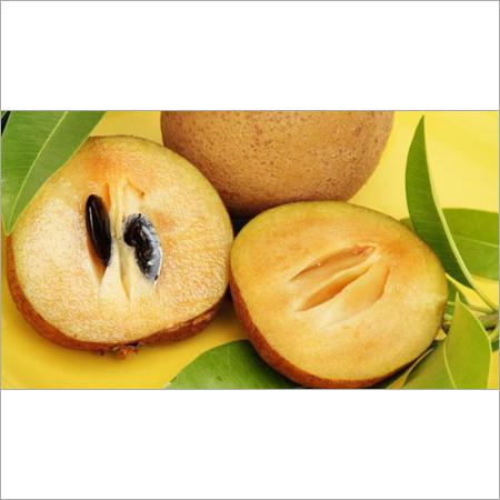 Sapota Chikoo Fruit