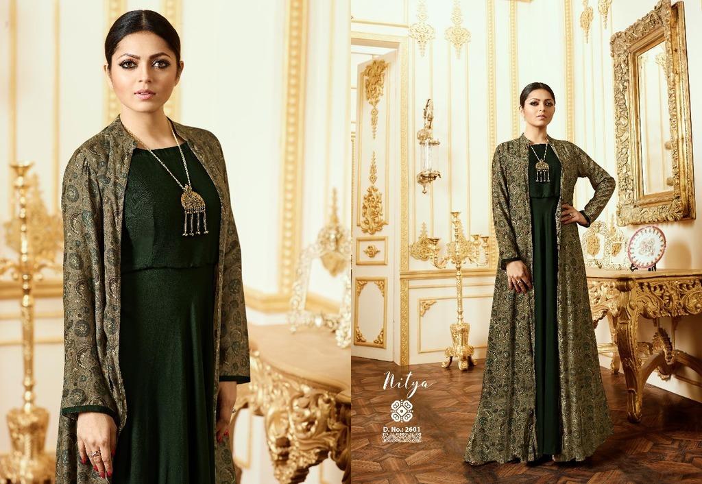 Party Wear Designer Gown Style Kurtis