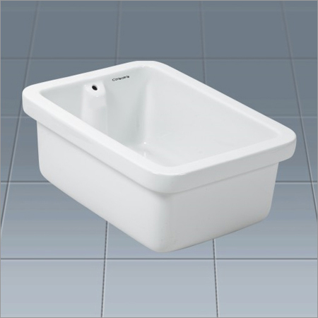 Ceramic Rectangular Lab Sink