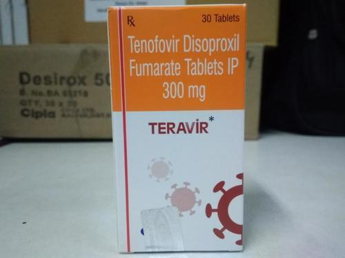 Teravir ( Tenofovir disoproxil  Fumarate Tablets IP 300 Mg