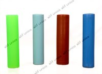 Plastic Cylindrical Cheese Tubes