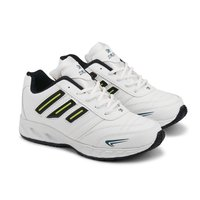 Mens White & Black Shoes