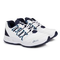 Mens White Blue Shoes
