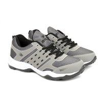 Mens Grey & Black Shoes