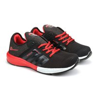 Mens Black & Red Shoes