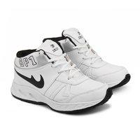 Mens White & Black Shoes