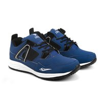 Mens Blue & Black Shoes