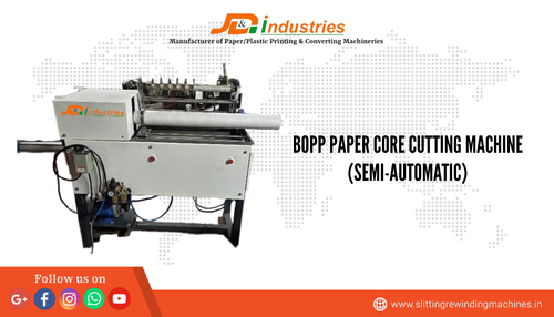 Semi-Automatic Core Cutting Machine Pneumatic Based