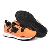 Mens Orange & Black Shoes