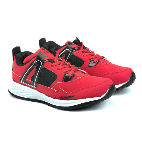 Mens Red & Black Shoes
