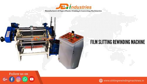 Plastic Film Slitter Rewinder Machine