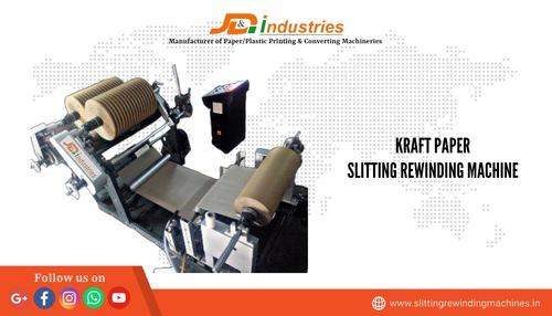 Kraft Paper Slitter Rewinder Machine