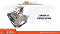Aluminum Foil Rewinding Machine