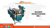Semi Automatic Paper Core Cutting Machine Model-1