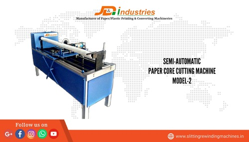 Pneumatic Type Paper Core Cutting Machine
