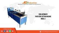 Semi-Automatic Paper Core Cutting Machine Model-2